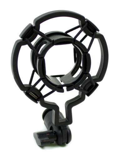 Rockhouse Profi Mikrofonhalter Shockmount Mikrofonhalterung Shotgun elastisch 23