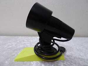 DDR Design Kunststoff / Plaste Schreibtischlampe / Leuchte - Vintage um 1970