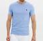 Ralph-Lauren-Crew-Neck-Custom-SLIM-Fit-Cotton-Tee-Shirt-New-collection thumbnail 1