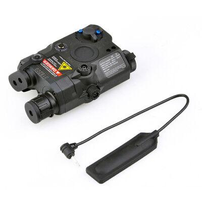 FMA Airsoft PRO-LAS-PEQ-15 LED Flashlight Dummy Green Laser Sight BK AEG GBB CQB