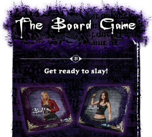 Buffy The Vampire Slayer Board Game And Expansion