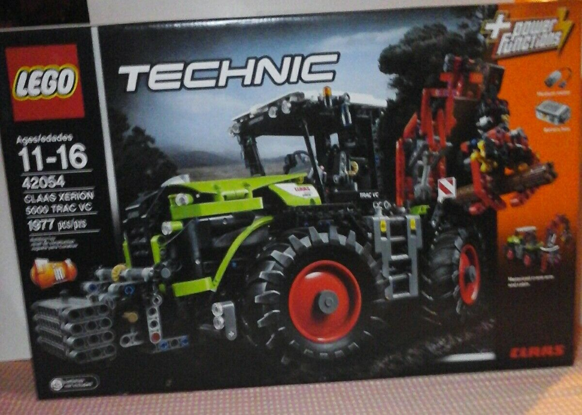 NEW LEGO Technic Claas Xerion 5000 Trac VC (42054) 1977 pieces building toy