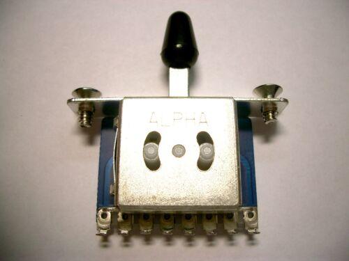 Schrauben 3-Wege Schalter ALPHA 3 way switch f.Tele inkl