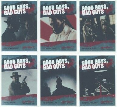 """GOOD GUYS BAD GUYS SET"" THE SPIRIT SAMUEL JACKSON"