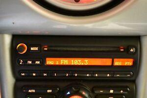 Image Is Loading 2002 2004 Bmw Mini Cooper Radio Am Fm