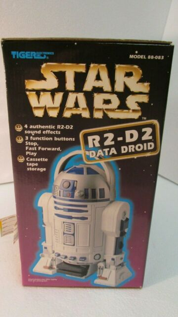 Star Wars R2-d2 Data Droid 1997 Tiger Electronics Cassette Tape