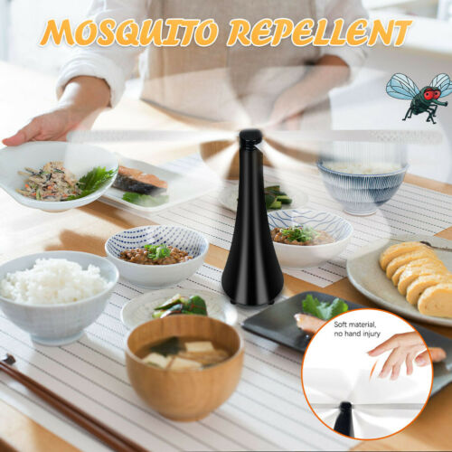 Details about  /Fly Repellent Fan Keep Flies And Bugs Away From Your Food Enjoy Outdoor Meal #GA