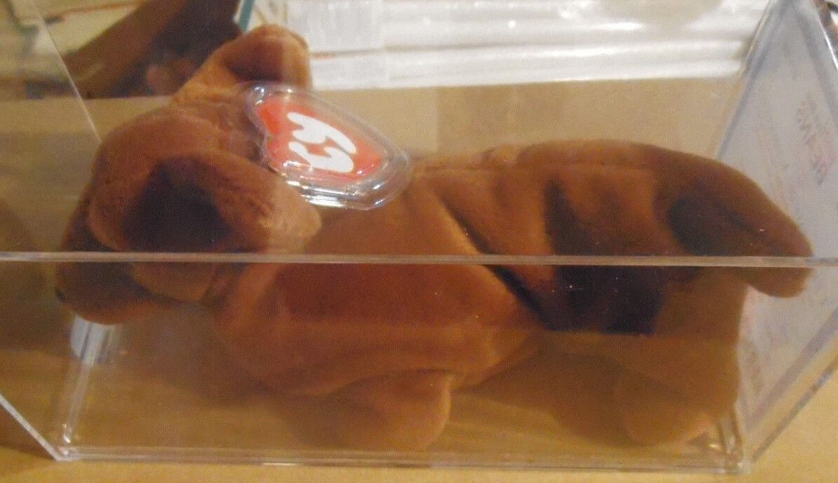 MWMT MQ Authenticated Ty 3rd Gen Weenie Beanie Baby 3rd Hang 2nd Tush