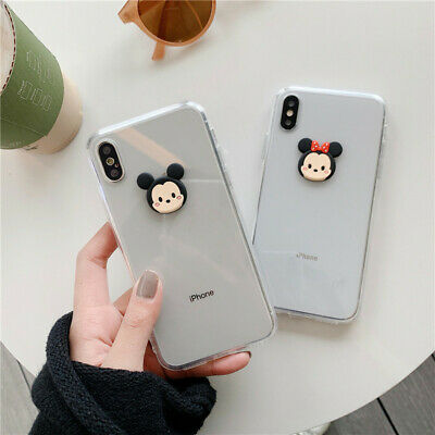 Cute 3D Disney minnie mickey soft case