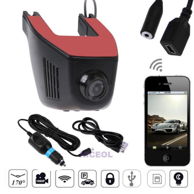 1080P HD Versteckte WiFi Auto DVR Video Recorder Dash Cam Nachtsicht G-Sensor