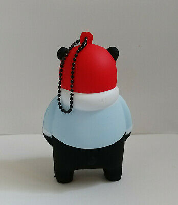 KUMAMON Good Life Farmer /& Pilot 9cm Soft Vinyl Toys Figures Sofubi Charms Set