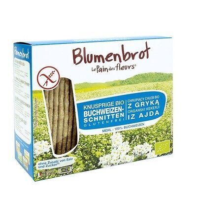 Blumenbrot Knusprige Buchweizen Schnitten , 150g glutenfrei (100g= € 2,03)