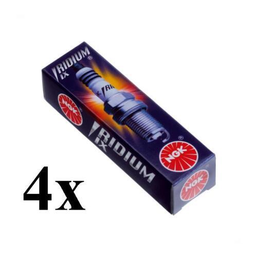 4 Bougies BPR8EIX NGK VOLVO 480 E 1.7 Turbo 120 CH