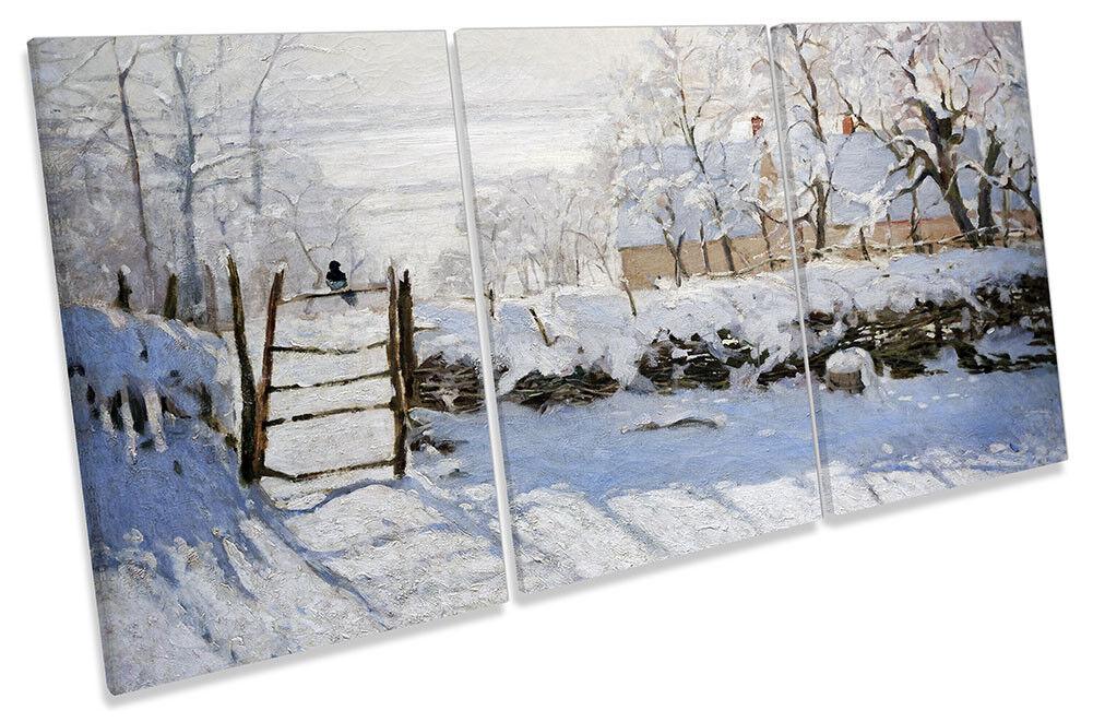 CLAUDE Monet La La La Gazza a Muro Art Stampa degli acuti fd7b96