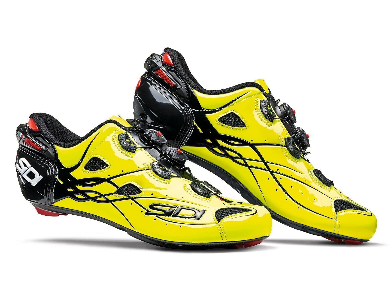 New Sidi Shot Cycling shoes, Bright Yellow, EU40-45