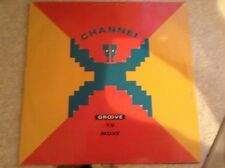 """Channel X - groove to move - excellent condition 12"""" vinyl"""
