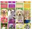 Calendario-de-engorda-2019-planificador-espiral-Gato-Perro-Gatito-Flores-Jardines-Cachorros miniatura 11