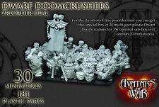 Avatars of War BNIB Enano doomcrushers Edición Especial aowpl11