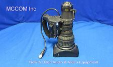"""Canon J15ax8B4 IRS SX12 Zoom SD 2/3"""" Lens w/ 2X"""