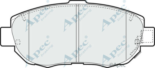 Brand New Apec Front Brake Pad Set PAD1096-12 Months Warranty!