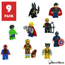9pc Marvel Lego Avengers Super Mini New Heroes Figure Black Infinity Mini figure
