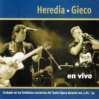 Heredia & Gieco - En Vivo [new Cd] on sale