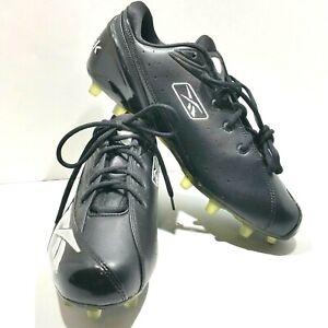 e999f783d6d7 Reebok NFL Equipment RB 504 KTS 20-137982 Black Mens Football Cleats ...