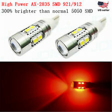JDM ASTAR T10 Wedge Red AX-2835 SMD 921 912 W5W 12V LED Car Tail Dome Light Bulb