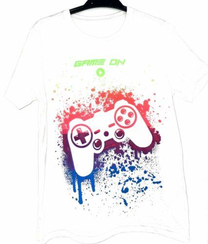 """Garçons T-shirt Blanc Âge 9-10 Ans Par Marks /& Spencer /""""VENDEUR BRITANNIQUE/"""""""