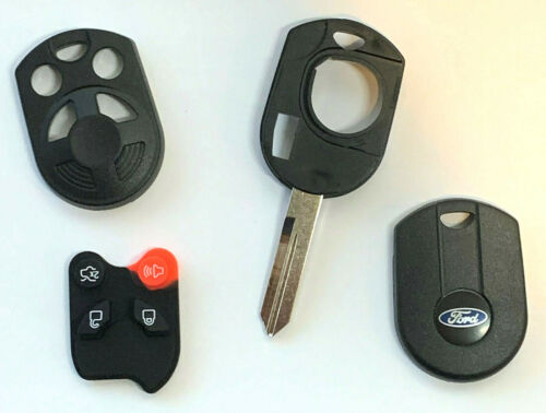 2 New Ford 4 Button OLD Style Remote Head Key Shell USA Seller Best Quality  A++