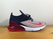 Nike Womens Air Max 270 Flyknit Moon Particle Red Orbit Ah6803 200 Size 6