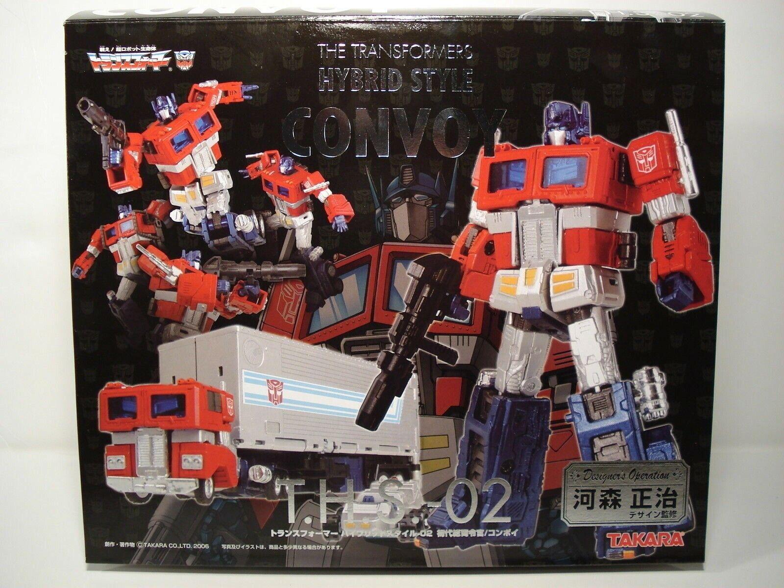 Convoy híbrido de Transformers Optimus Prime sin usar y en caja sellada