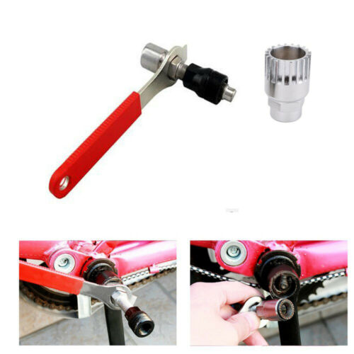 Cycling Spanner Repair Tools Bike Bottom Bracket Remover Crank Extractor Puller
