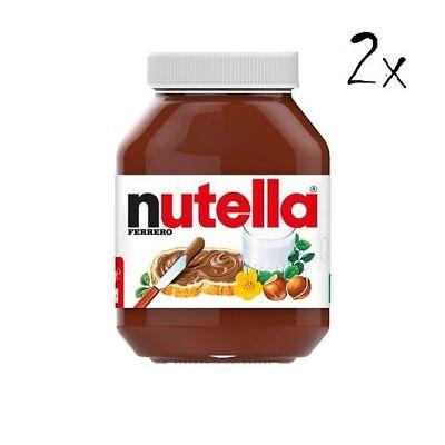 2x Ferrero Nutella  Haselnuss Schokolade 950g aufstrich Brotaufstrich