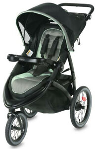 Graco-Baby-FastAction-Jogger-LX-One-Hand-Fold-Reclining-Seat-Stroller-Ames-NEW