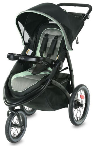 Graco Baby FastAction Jogger LX One-Hand Fold Reclining Seat Stroller Ames NEW
