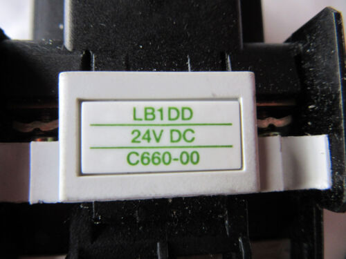 with Free Shipping GE CL02D310T Contactor Coil 24VDC VGC!!
