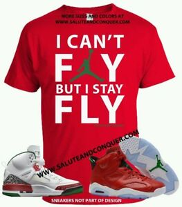 549a118082f535 JORDAN 6 HISTORY AND SPIZIKES Matching t shirt by SALUTE AND CONQUER ...