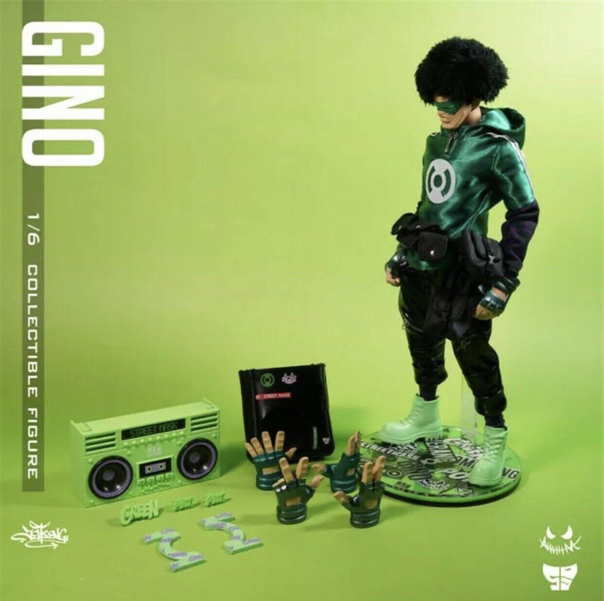 JT studio Gino 12 Designer Art giocattolo cifra con Boomscatola Nuovo in Scatola Edizione limitata 100
