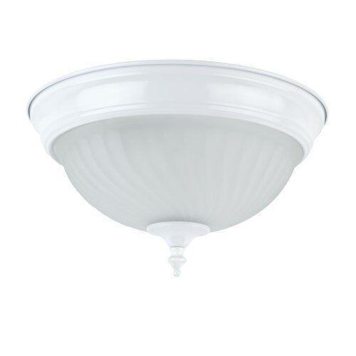 globe electric 6261201 white 1 light 11 inch flush mount ceiling