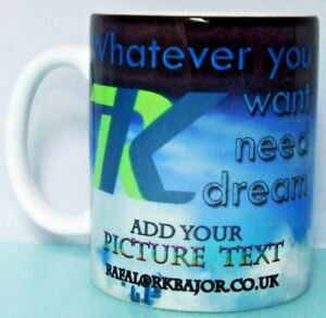 Design Your Own Personalised Mug Custom Changing Colour Sparkling