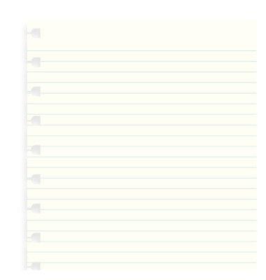 Filofax - Tasca Note Bianco Per Notebook - Ricarica Per Tasca Quaderni Per Godere Di Alta Reputazione A Casa E All'Estero