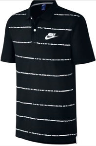 c81a3848f Image is loading Nike-Sportswear-Matchup-Pique-Cement-Stripe-Graphic-Polo-