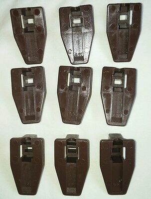 9 Kenlin Rite-Trak Dresser Drawer Replacement Stop Guide Glide Case Runners