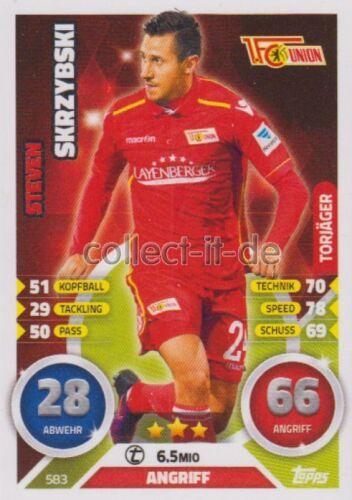 Steven Skrzybski Torjäger Match Attax Extra 16//17 2017-583