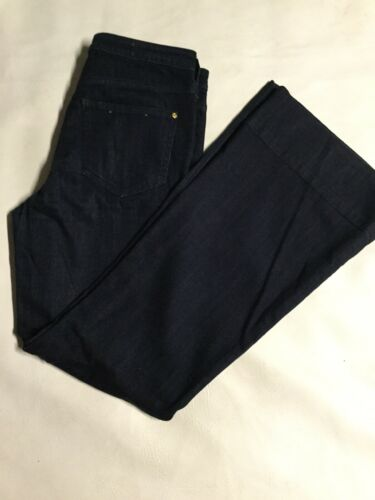 rise Super The And Scrip Donkerblauwe high U39 jeans Flare Maat 28 Letters Pilcro nBT6wvqYn