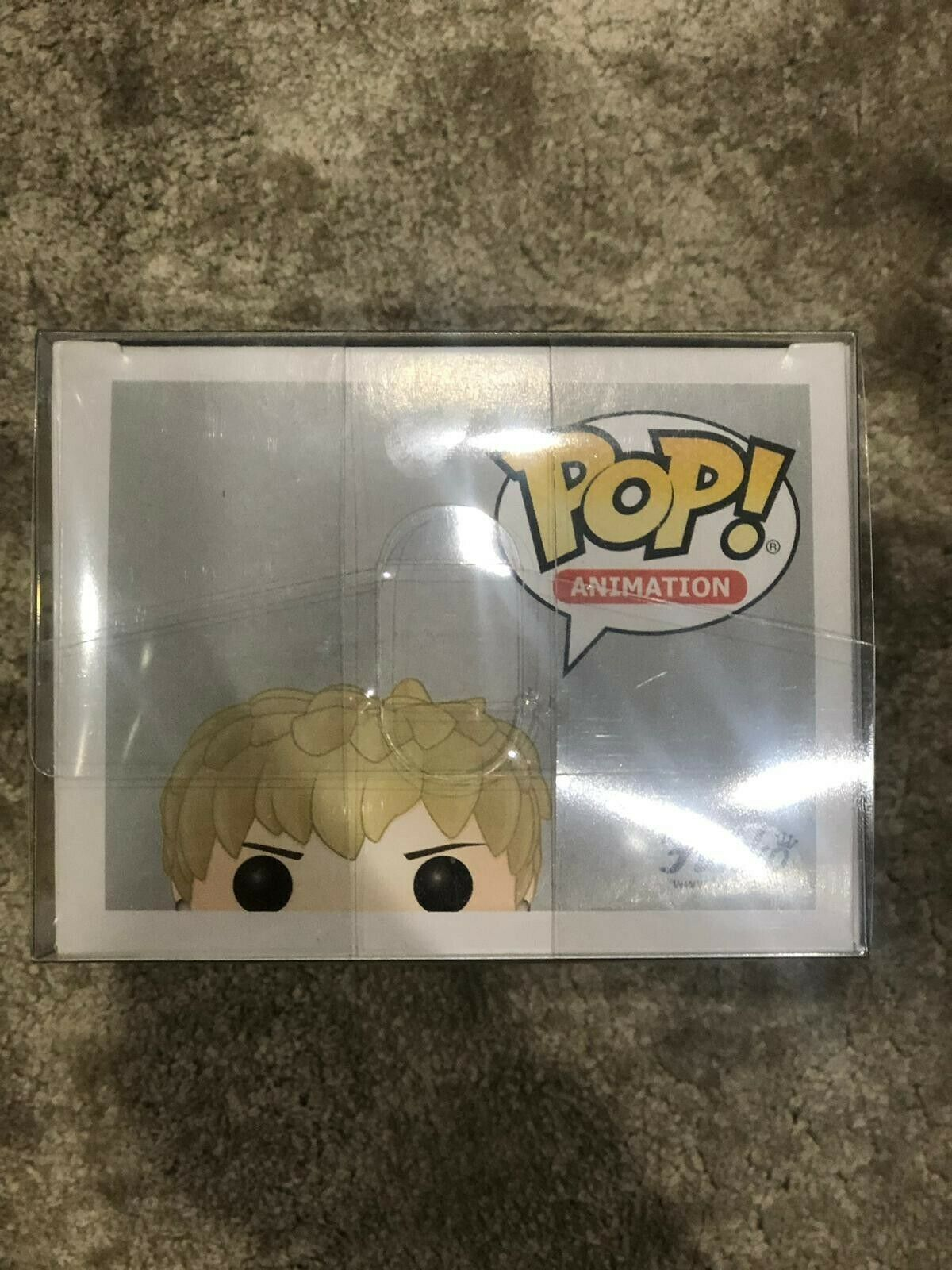 Funko POP Animation  258 Genos Genos Genos - One Punch Man  with Protector 18a052
