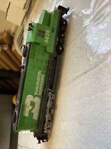 Vintage-TYCO-5628-SANTA-Locomotive-HO-Scale-TRAIN-Diesel-tr169
