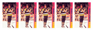 (5) 1993 Ballstreet Mario Lemieux Hockey Card Lot Pittsburgh Penguins