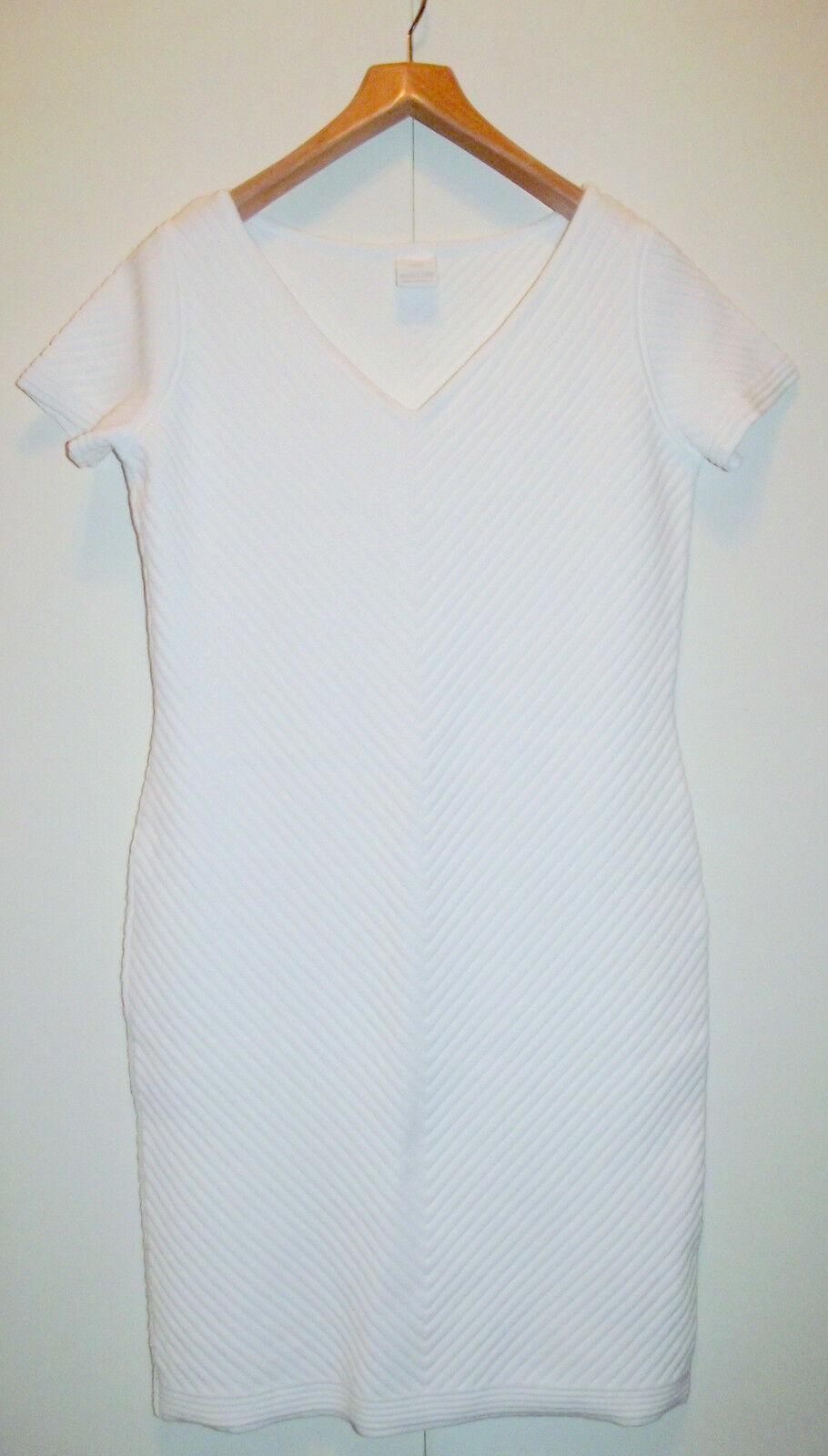 MADELEINE damen Knitted Jacquard Midi Dress Stretch Heavy Jersey Smart 14